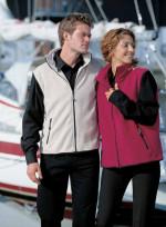 Casual fleece vest