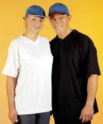 T-shirt med v-hals - herremodel